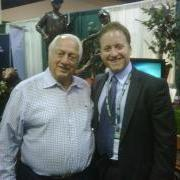 Austin and Tommy Lasorda