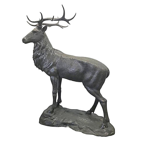 Custom Bronze Elk
