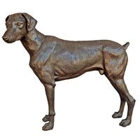 Doberman Pinscher Dog Statue