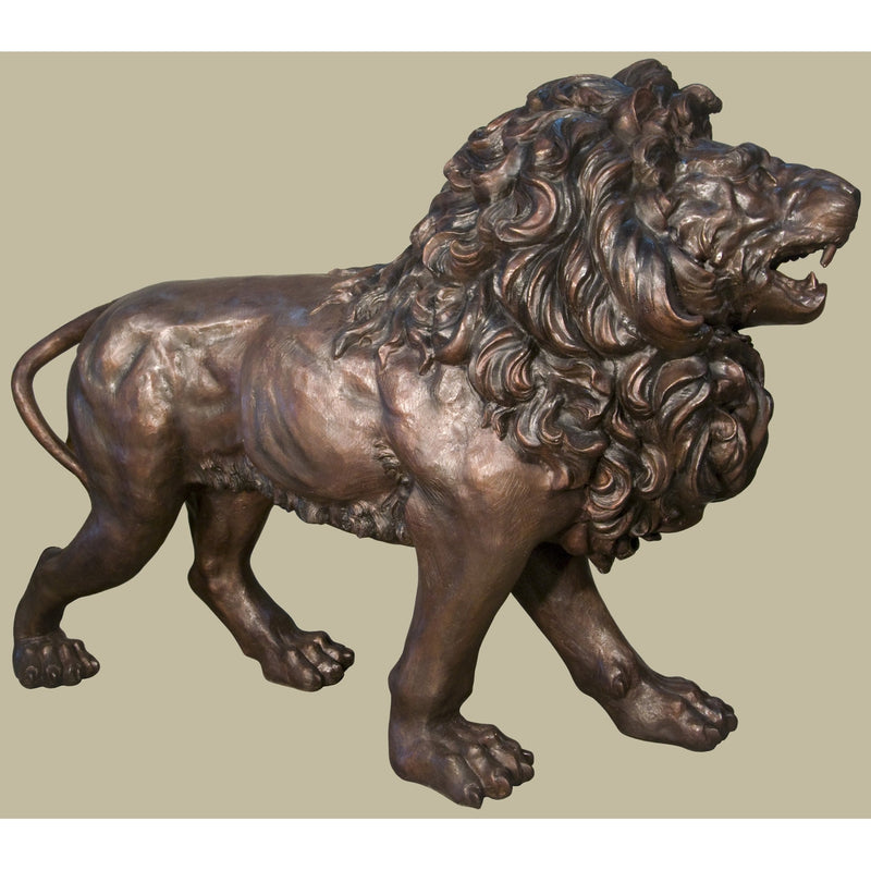 Bronze Lion Statues | Bronze Lion Sculptures | Wildlife Art