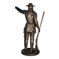 Davy Crockett Custom Sculpture