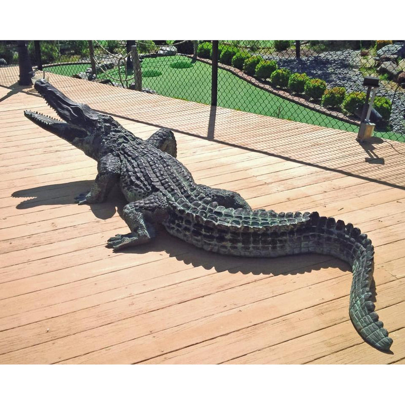 Alligator Statues | Bronze Alligator Sculptures | Animal Fountains