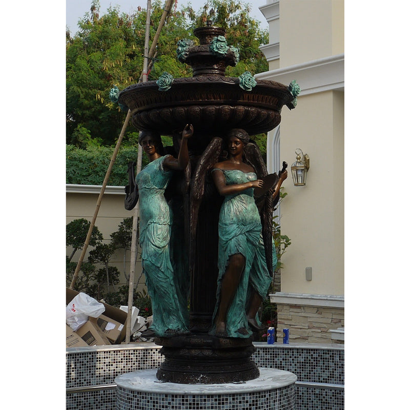 Four Lady fountain-Short version