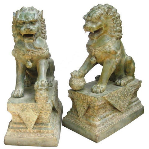 Foo Dogs - Chinese Guardian Lions