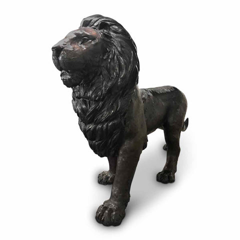Custom Larger than Life-Size Lion