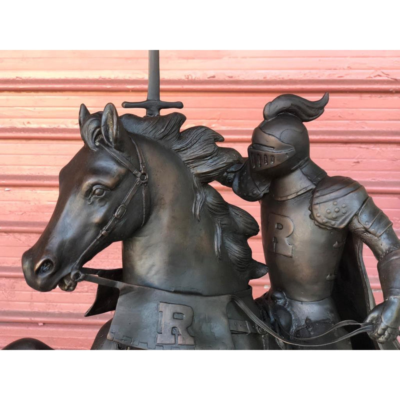 Victory - Custom Rutgers University Horse & Knight (Maquette)