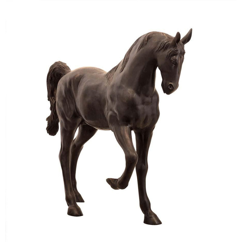 Bronze Pony Horse Statue Sculpture