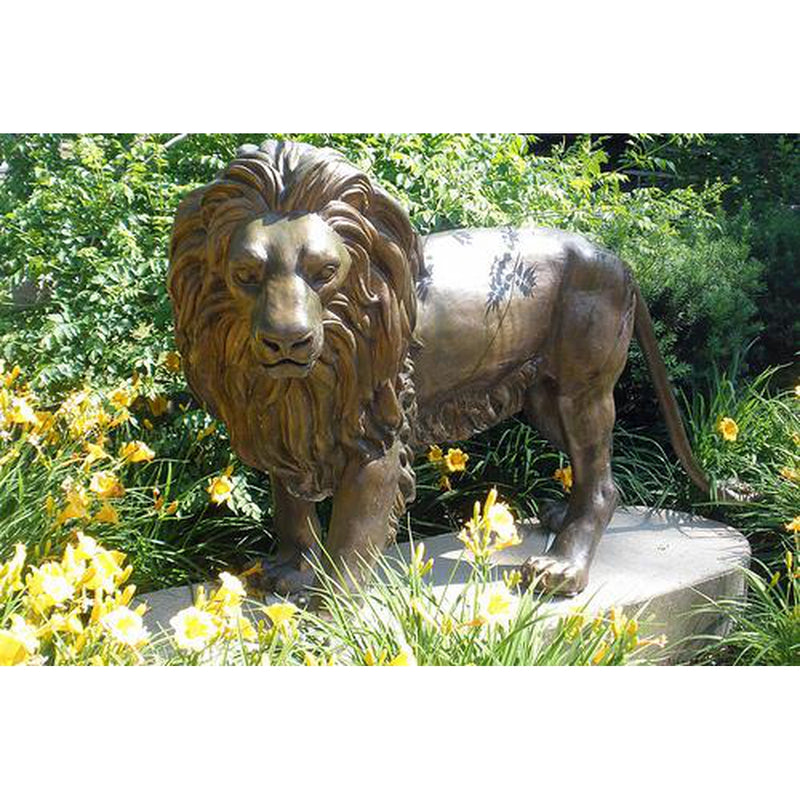 Bronze Lion Statues & Sculptures by Randolph Rose Collection