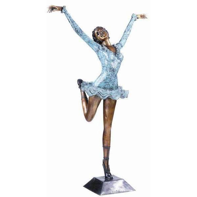 Bronze Statue of a Female Ballerina