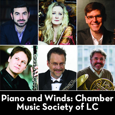 """Piano and Winds: Chamber Music Society of LC"""