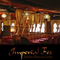 Imperial Fez gift certificate
