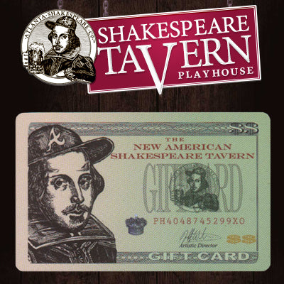 Shakespeare Tavern $50 Gift Card