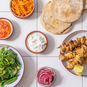 CHICKEN SHAWARMA FEAST