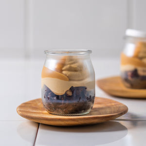 CHOC POT WITH PEANUT BUTTER MOUSSE