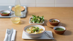CAULIFLOWER AND CELERIAC RISOTTO