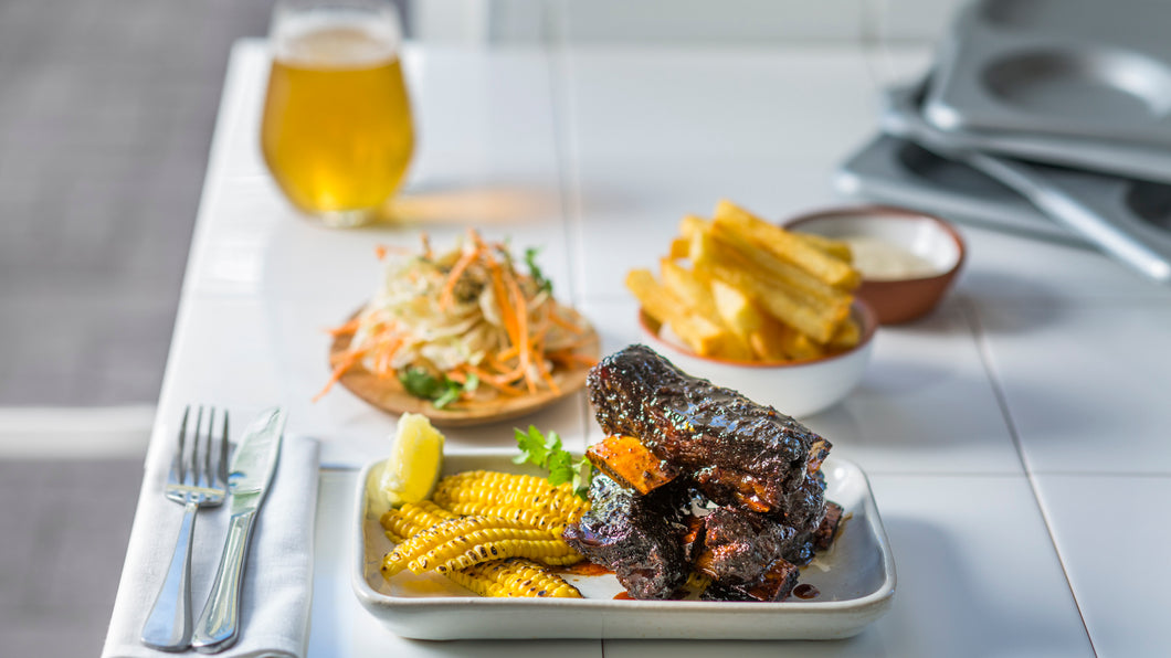 STICKY WOOD ROAST SHORT RIBS