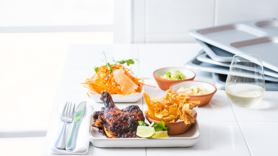 TANDOORI SPICED WOOD ROAST CHICKEN