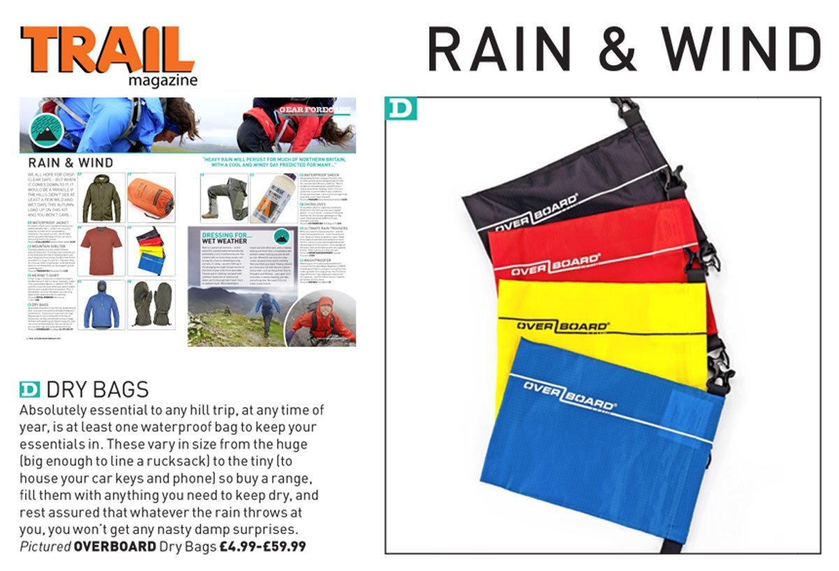 Trail Magazine - Dry Pouches