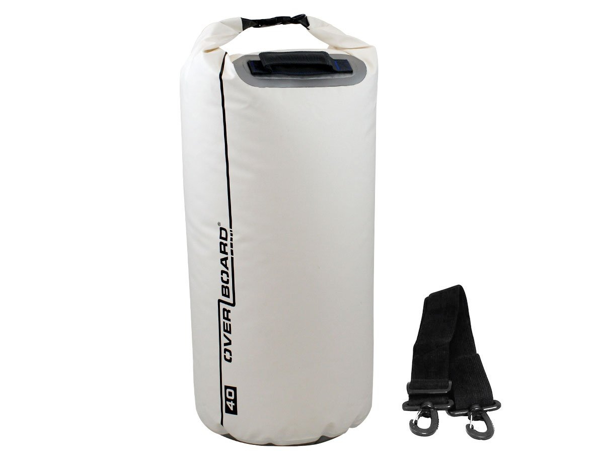 OverBoard Waterproof Dry Tube Bag - 40 Litres | OB1007WHT