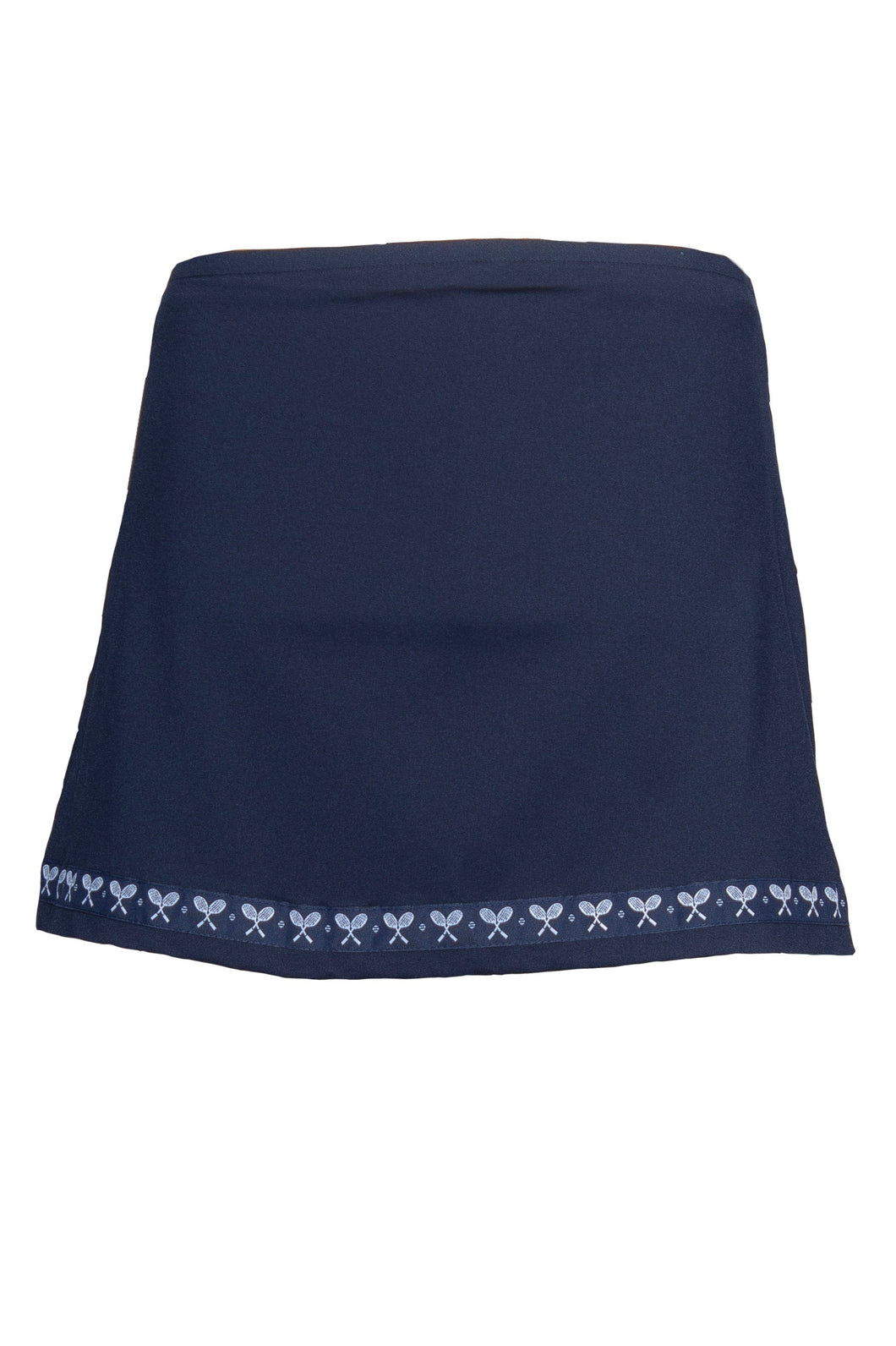 Navy Racket Club Tennis Skort