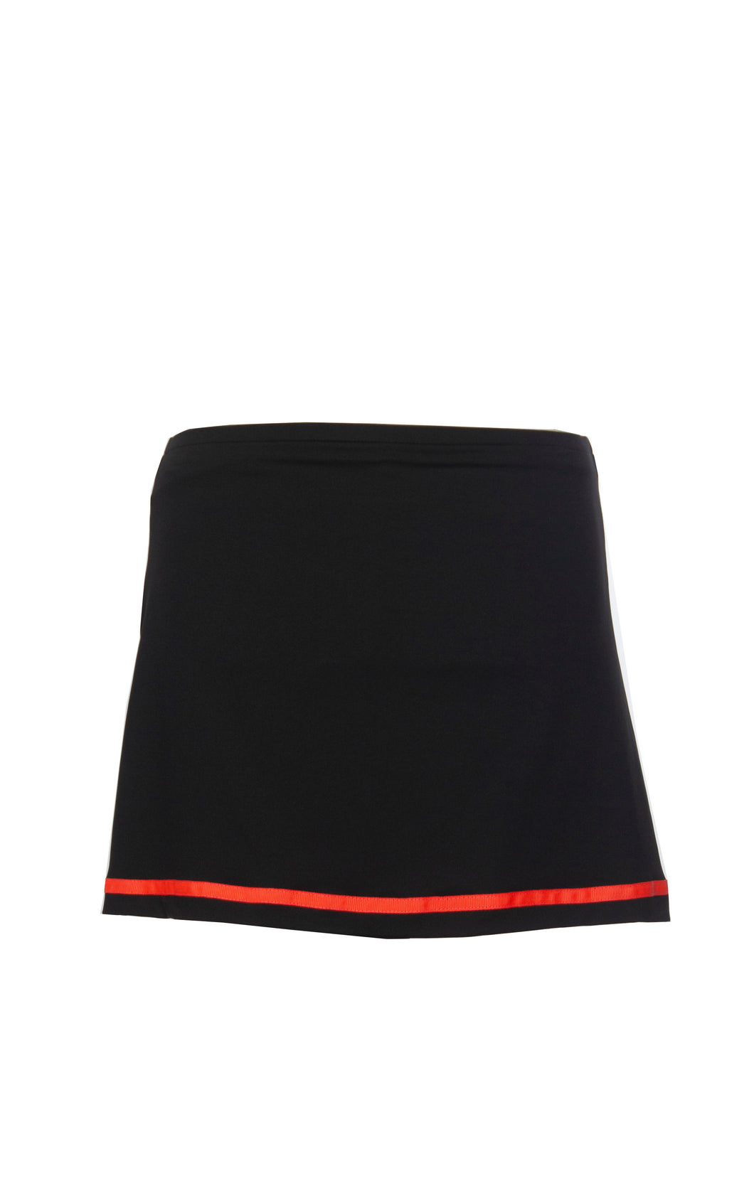 Black Skort With Neon Trim