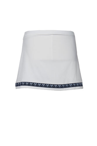 girls tennis skort in white