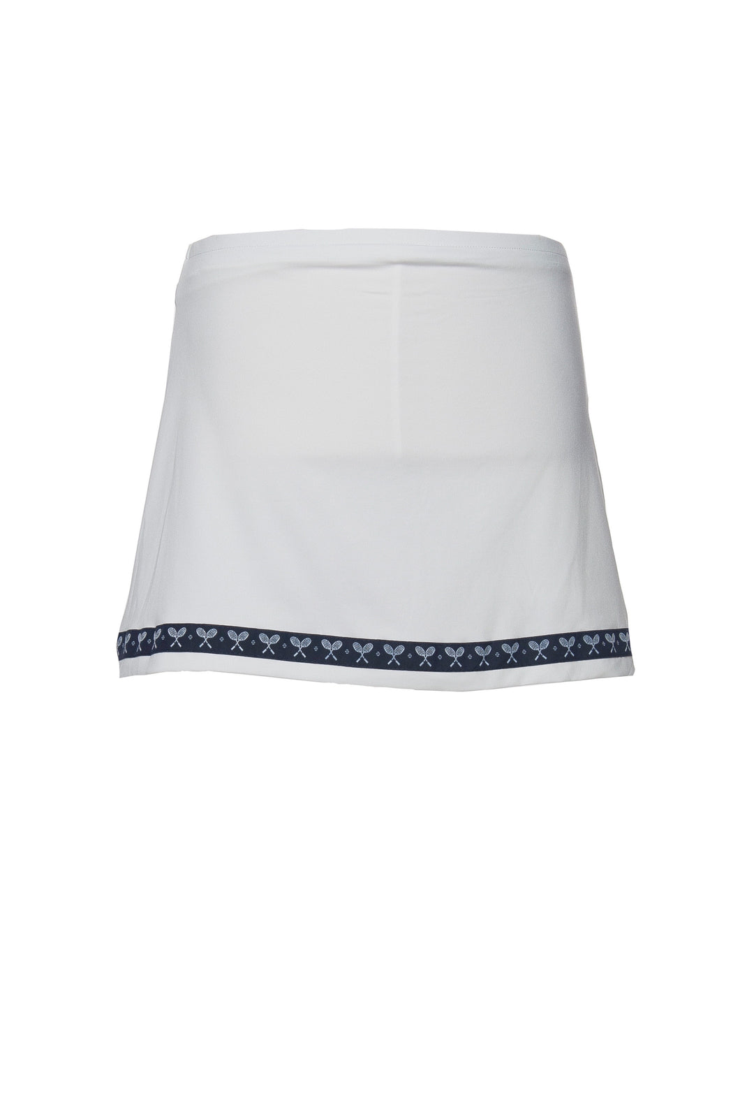White Racket Club Tennis Skort