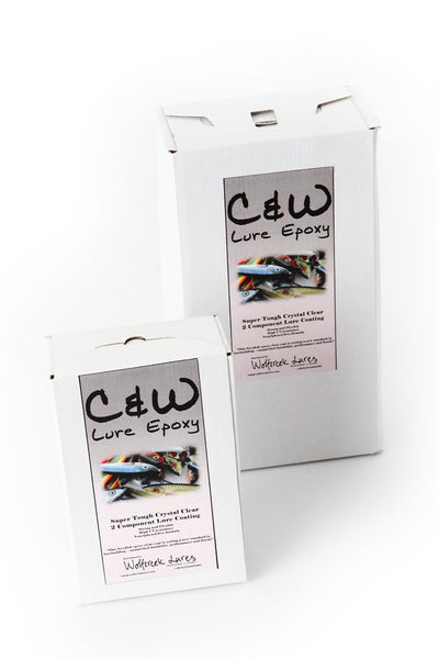 C&W LURE EPOXY 0.5 LITER