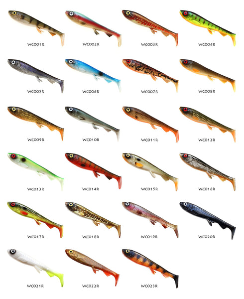 WOLFCREEK SHAD 1-PACK. PICK AND MIX