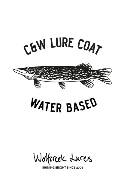 C&W LURE COAT WATER BASED 0.5 LITER