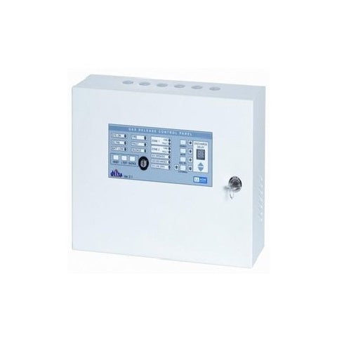 Agni Suraksha DL-4R -  Delta 4 Zone Gas Release Fire Alarm Panel