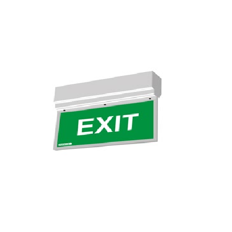 Agni Suraksha EX-WLH-GR - Exit Light Wall Hanging (Green)