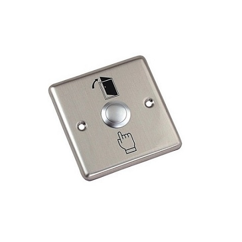 SBJ SWS 05 - Stainless Steel Exit Switch (3x3)