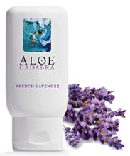 Load image into Gallery viewer, Aloe Cadabra Organic Lube French Lavender 2.5 Oz