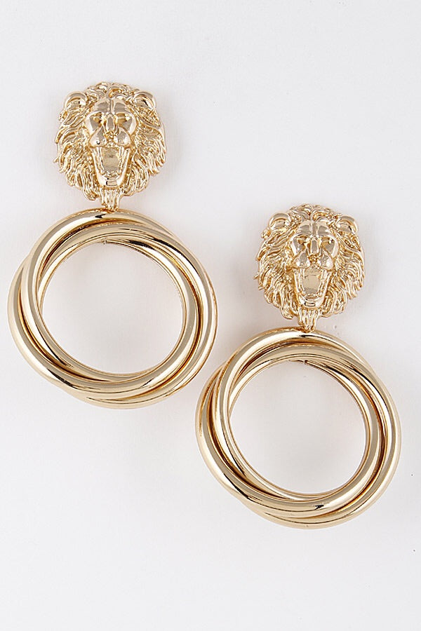 Gold Manor Earrings