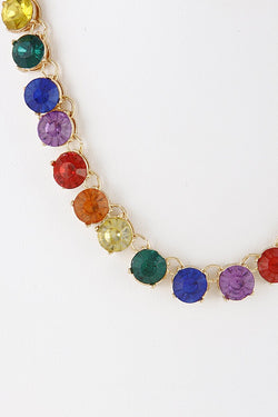 Rainbow Bright Jewels Necklace
