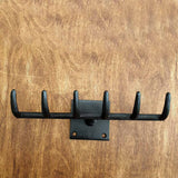 Cast Iron Rake Hook -  Hooks Knobs