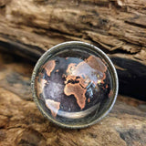 World Map Door / Drawer Knob -  Hooks Knobs