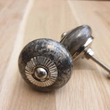 Granite Effect Ceramic Door / Drawer Knob -  Hooks Knobs