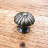 Vintage Style Mushroom Cabinet / Drawer Knobs -  Hooks Knobs