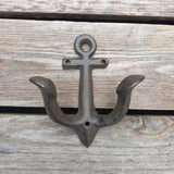 Cast Iron Anchor Hook - Small