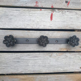 Flower Cast Iron Wall Hook