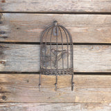 Bird Cage Wall Hook - Triple Hook
