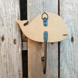 Set of 2 Whale Single Hooks