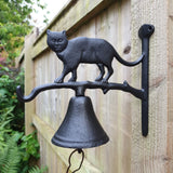 Cast Iron Door Bell - Cat