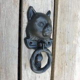 Cast Iron Door Knocker - Cat