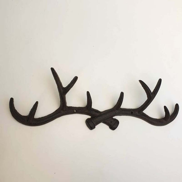 Cast Iron Antler Wall Hook