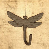 Cast Iron Dragonfly Single Hook