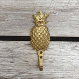 Pineapple Wall Hook - Gold