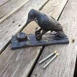 Cast Iron Door Knocker - Woodpecker